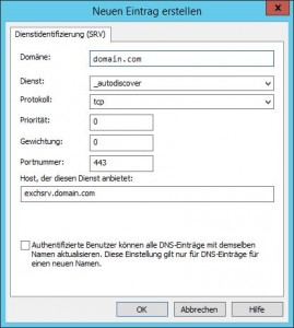 Windows DNS Manager