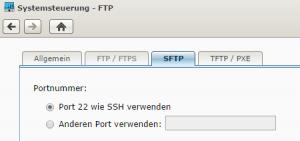 SFTP Port
