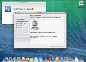 OS X Mavericks - Install VMware Tools