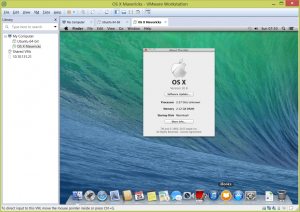 OS X Mavericks VMware Workstation