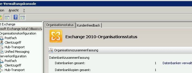 Exchange ActiveSync Ereignis-ID: 1053