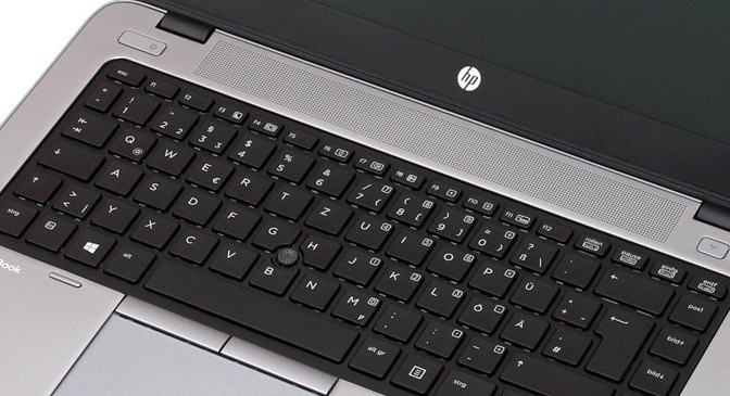 HP Elitebook Pointstick Scrolling