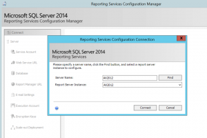 SQL Server 2014 Reporting Services Configuration Manager