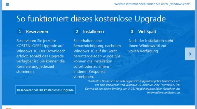 Microsoft Rollout als Downloader für Windows 10