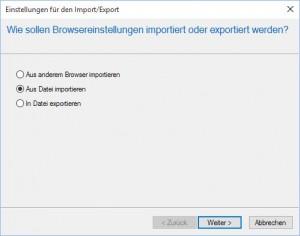 Aus Datei importieren