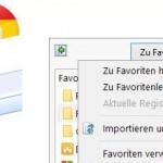 Chrome Lesezeichen Export und Internet Explorer Import