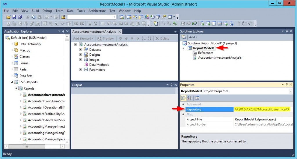 Visual Studio 20120 ultimate SSRS Reports deploying