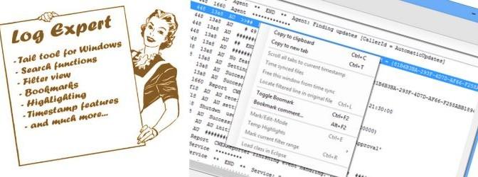LogExpert für Entwickler unter Windows