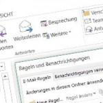 Exchange Quota für Outlook Regeln vergrössern