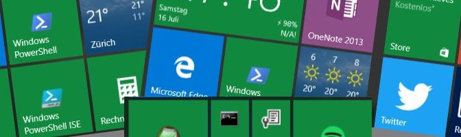 Windows 10 Standard-Apps deinstallieren