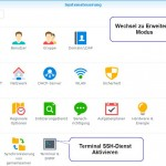 Synology root Login aktivieren