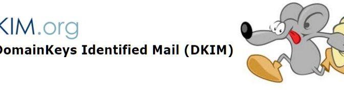 DKIM mit OpenDKIM und Postfix auf CentOS