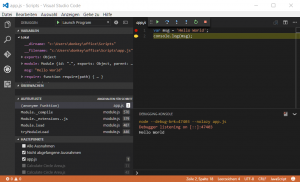 VisualStudioCode_Debugging