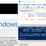 Windows 10 Version und Build