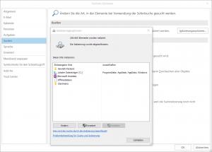Outlook-indizierungsoptionen