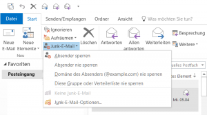 outlook-junk-emails