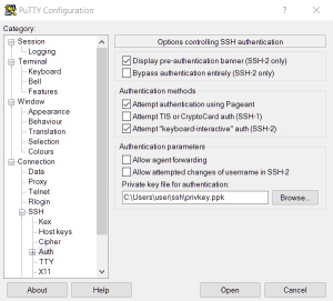 putty-configuration-ssh-auth