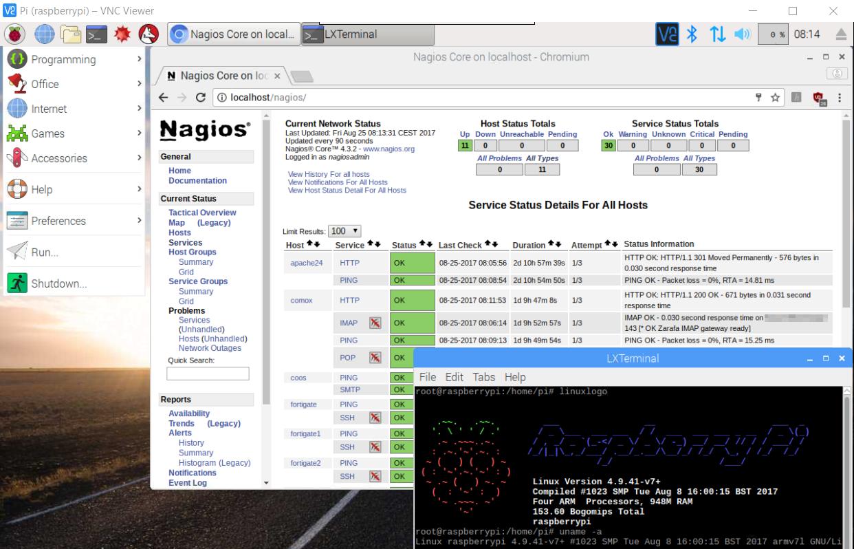 Raspbian VNCViewer