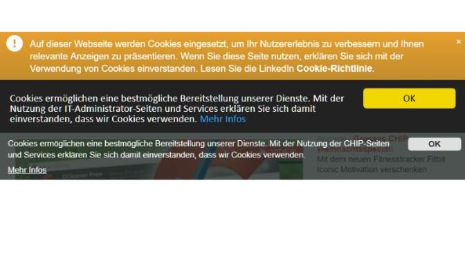 Cookie-Hinweise Blockieren