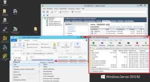 7-Zip Kontextmenu Flat VMDK öffnen