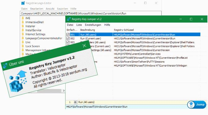 Registry Key Jumper