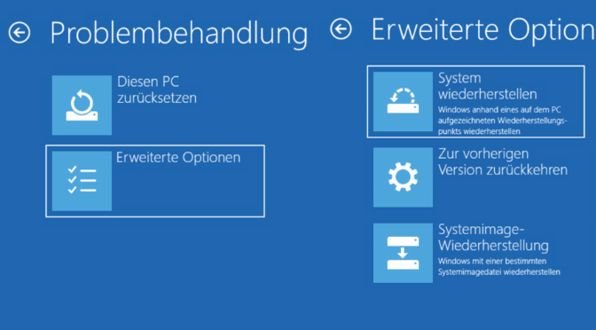 Windows 10 im abgesicherten Modus starten