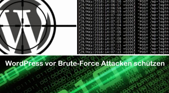 WordPress Server vor Brute-Force Login versuche durch fail2ban schützen