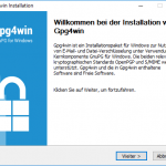 E-Mail Verschlüsselung mit PGP und S/MIME