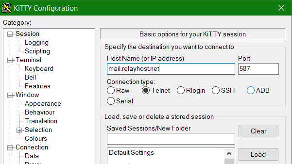 KiTTY Configuration