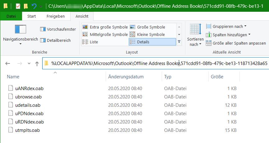 OAB-Dateien