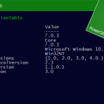 PowerShell 7 Installation