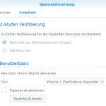 Linux Backup auf Synology