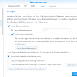 Synology Hyper Backup Replikation