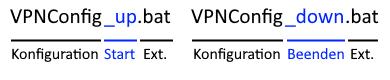 openvpn connection script