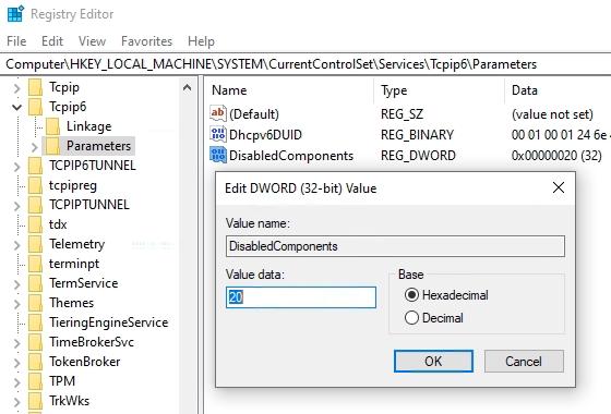Registry_Key_DisabledComponents