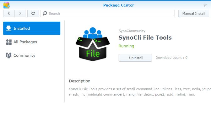 SynoCli File Tools