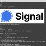 Signal Desktop auf Linux Installieren