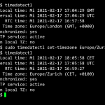 Network Time Protocol Linux Installation