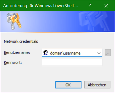 Windows PowerShell Credentials