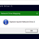 Network drive mapping from VBScript