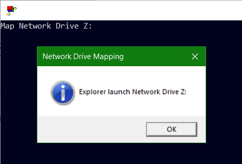 VBScript Network Drive Mapping