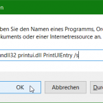 Network Printer Management from Command Prompt