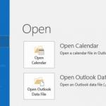 Outlook Data File IMAP Folder