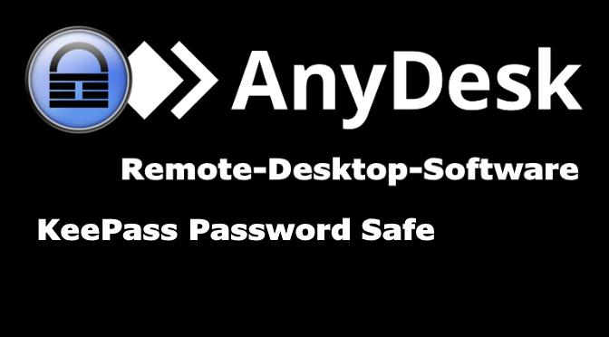 AnyDesk aus KeePass starten