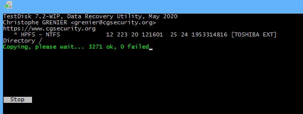 TestDisk Data Recovery Utility ist ein vollständiges Packet zur Datenwiederherstellung