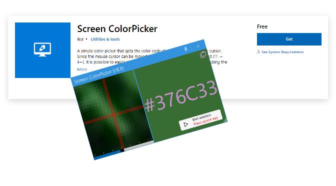 HTML Farbcode mit Pipette finden und kopieren